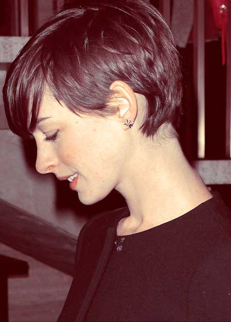 Short Pixie Cut With Long Bangs Short Hairstyles 2016