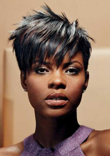 Messy Short Hairstyle