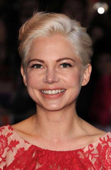 Michelle Williams Blonde Hairstyle