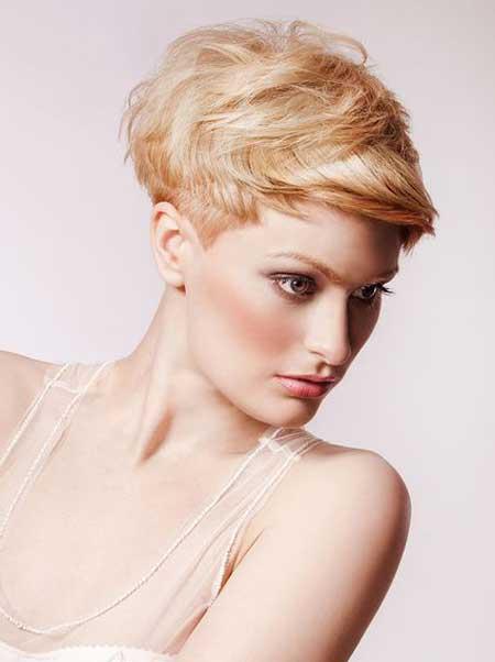 Short Avant Garde Hairstyle