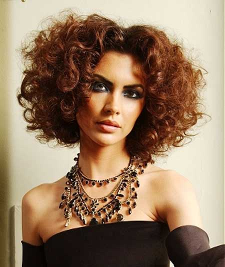 Short Cuts for Curly Hair Short