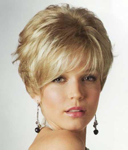 Short Elegant Blonde Hairstyle