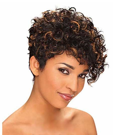 Short Hair Styles for Curly Hair-4