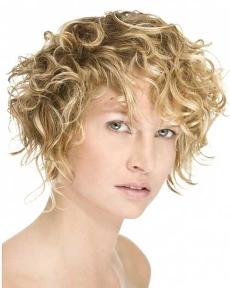 Short Hair Styles for Curly Hair-8