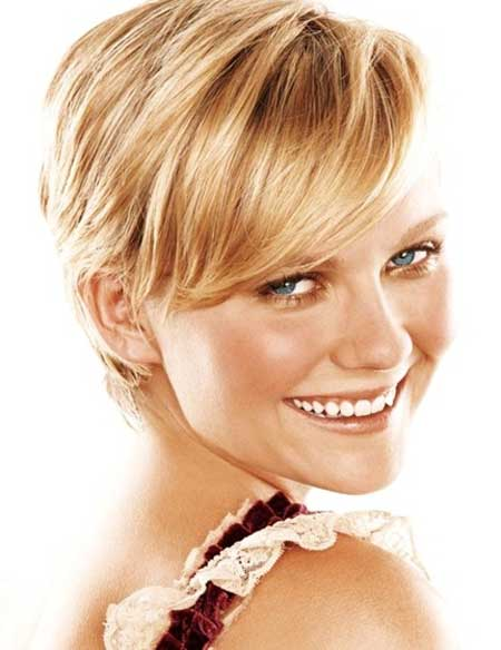 Short Pixie Blond Hairstyle