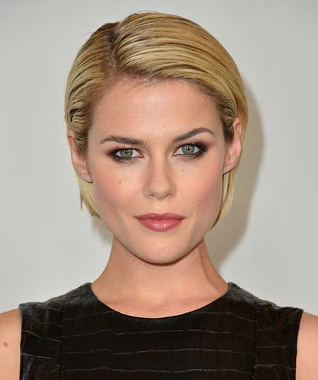 Short Slicked Back Hairstyle
