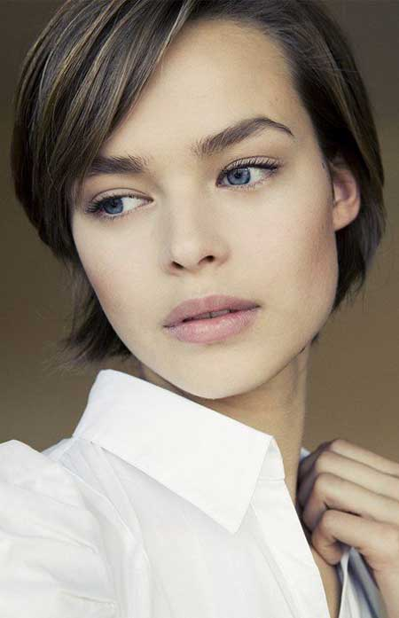 Short Slicked Back Hairstyle Short Hairstyles 2018