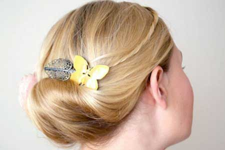 Short Wedding Hairstyles for 2013-6
