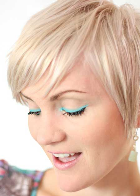 Straight Pixie Hairstyle