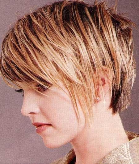 Stylish Asymmetric Hairstyle