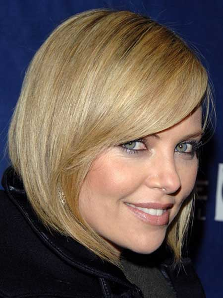 Trendy Celebrity Hairstyles-Charlize Theron
