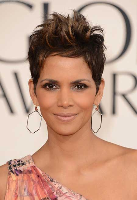 Trendy Celebrity Hairstyles-Halle Berry