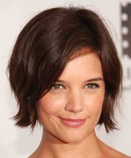 Trendy Celebrity Hairstyles-Katie Holmes
