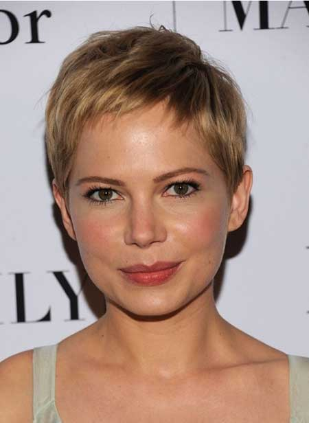 Very Short & Cute Pixie Cut