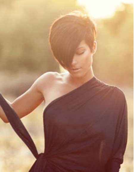 Fantastic Brown Hair Short Hairstyle
