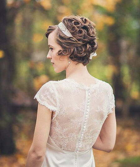 Wedding Hairstyles Short: Latest Short Bridal Hairstyles