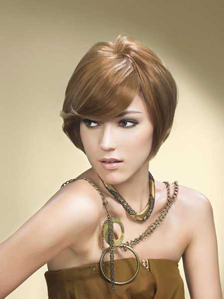 Ash Brown Soft Hairstyle