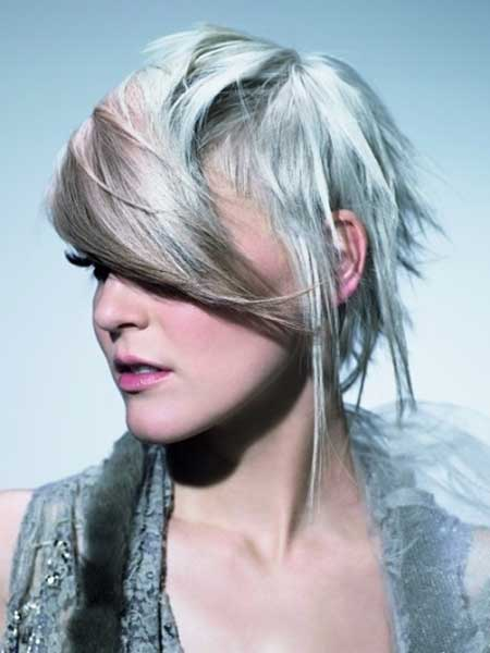 Asymmetrical Punk Hairstyle