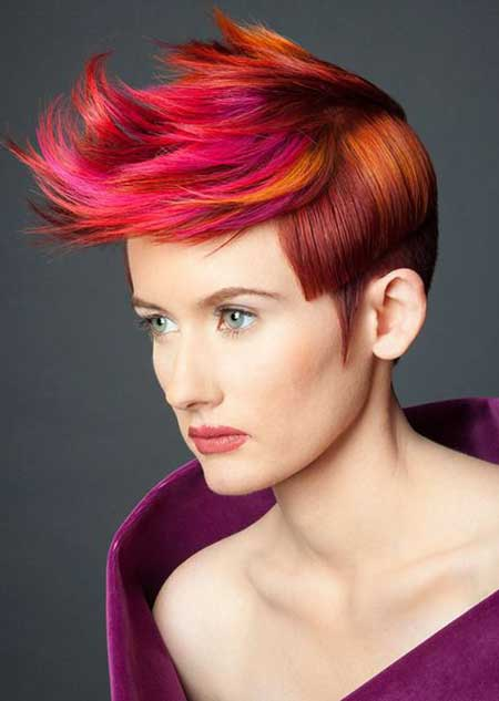 Awesome Artistic Pixie Cut