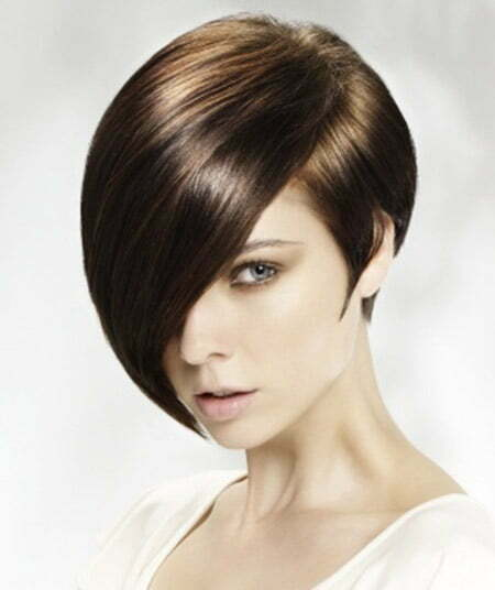 Awesome Asymmetric Bob Cut