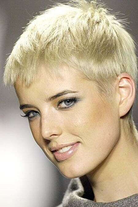 Awesome Boyish Pixie Cut