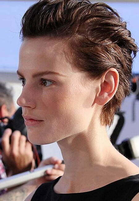 Awesome Brushed-up Pixie Cut