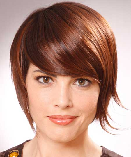 Awesome Cherry Red Bob Cut