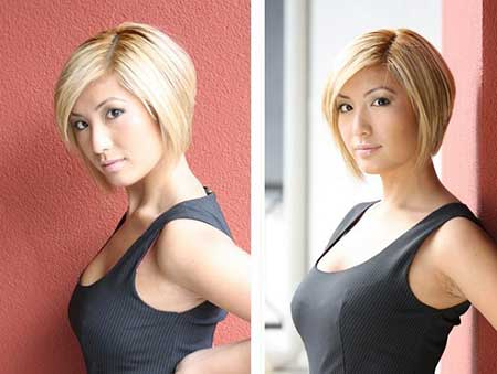Awesome Graduated Bob Hairstyle