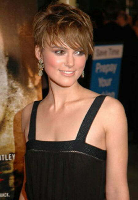 Awesome Messy Pixie Cut of Keira Knightley