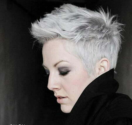 Awesome Messy Pixie Hairstyle