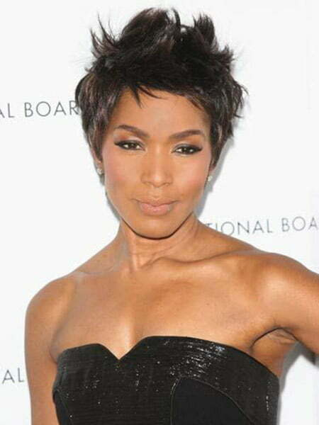 Awesome Pixie Cut with Spiky Top