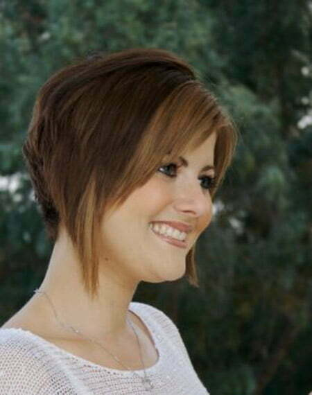 Awesome Stacked Bob Cut