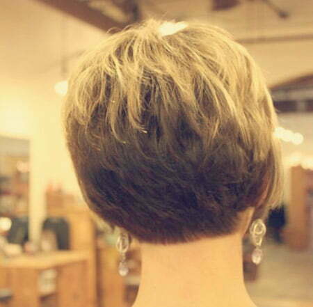 Back View of Short Haircuts | Short Hairstyles 2015 - 2016 | Most ...