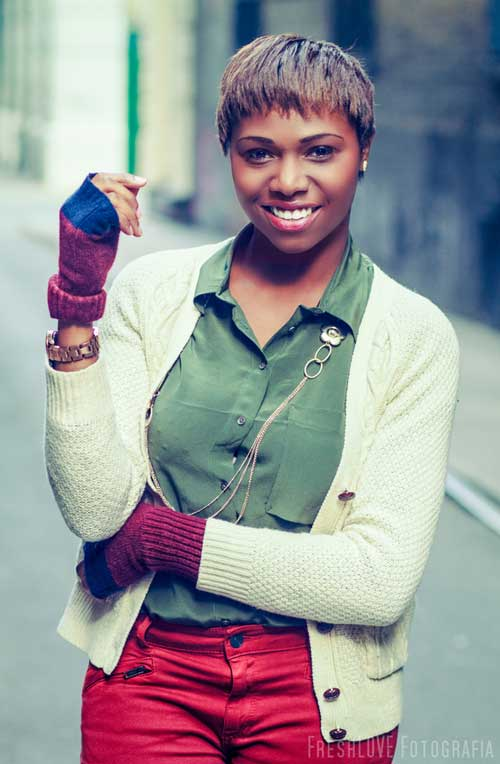 Beautiful Short Hairstyles for Black Women-2