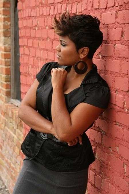 Astonishing 25 Nice Short Hairstyles For Black Women Short Hairstyles 2016 Hairstyles For Men Maxibearus