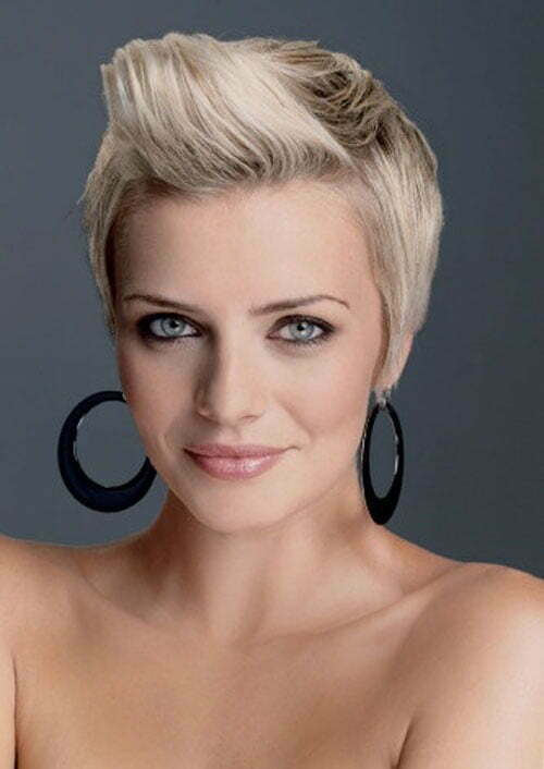 Blonde Hairstyles for Short Hair-1