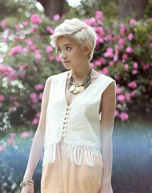Blonde Hairstyles for Short Hair-2