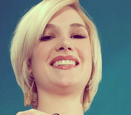 Blonde Hairstyles for Short Hair-4