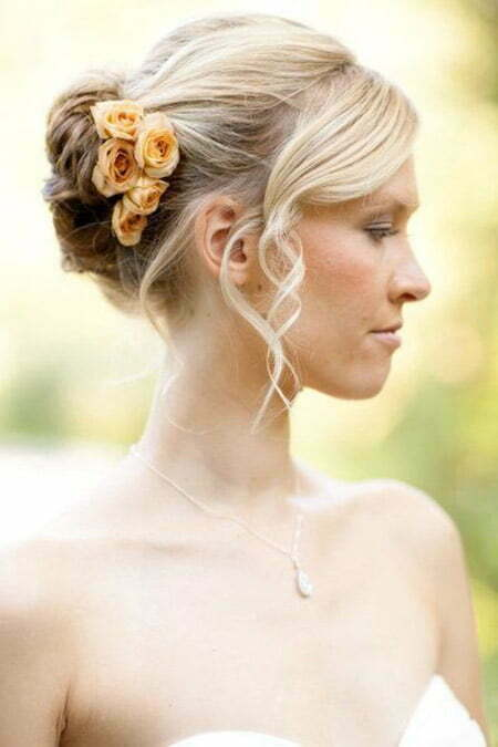 Admirable Short Wedding Hairstyles Short Hairstyles 2016 2017 Most Hairstyles For Women Draintrainus