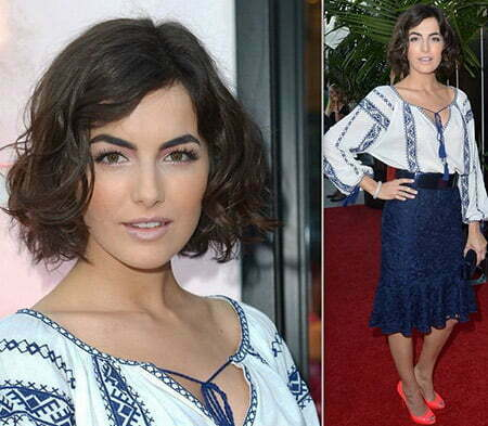 Camille Belle's Lovely Wavy Flip Out Bob Cut