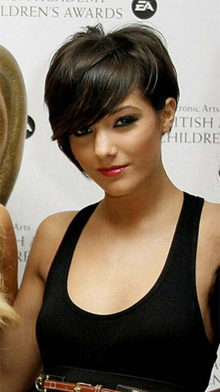 Charming Asymmetric Bob Cut