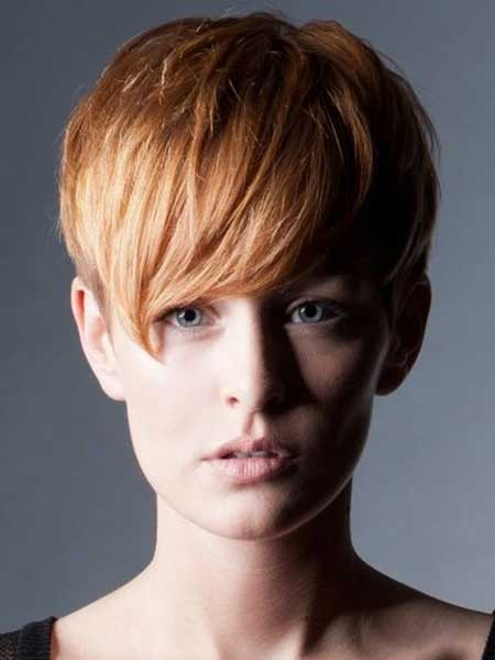 Charming Blonde Pixie Hairstyle