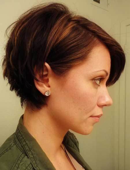 Charming Cute Short Hairstyle