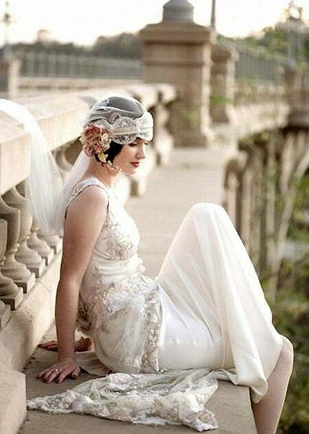 Short Wedding Hairstyles Short Hairstyles Most - Hairstyle with wedding gown