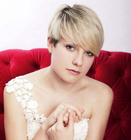 Charming Pixie Cut with Awesome Bangs