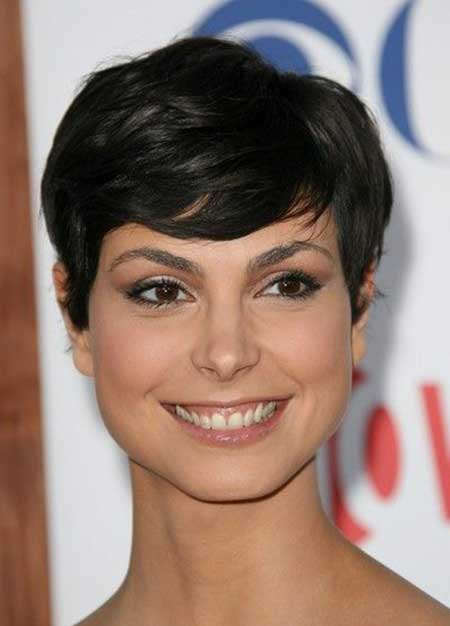 Charming Pixie Cut with Soft Bangs