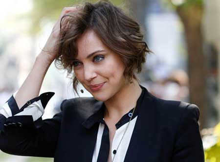Inverted Ombre Wavy Lob Bob Hairstyles 2016