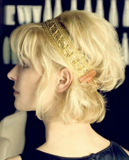 Charming and Fabulous Platinum Bob Cut