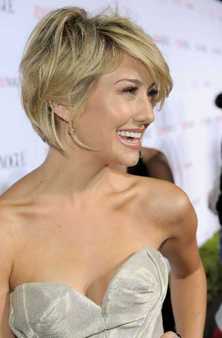 Chelsea Kane short haircut