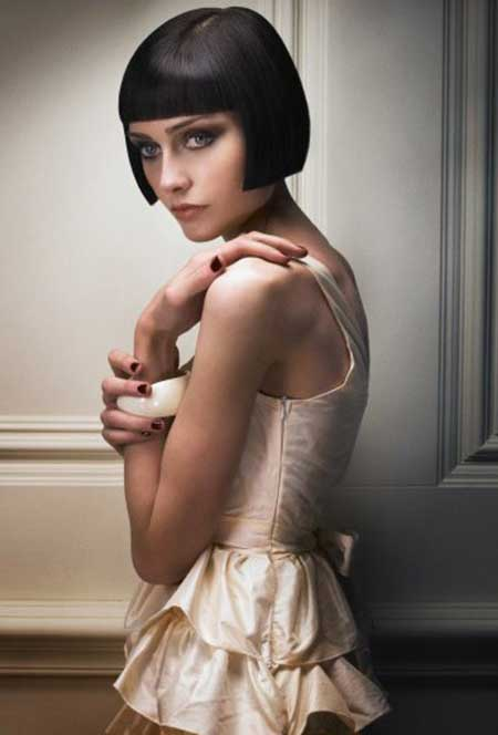 Chic Shingle Bob Cut